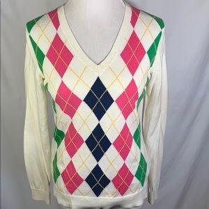 8d4e71cf21 Women s Lilly Pulitzer Argyle Sweater on Poshmark